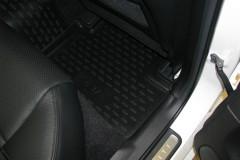 Фото 8 - Коврики в салон для Infiniti G (Q50) Sedan '10- полиуретановые (Novline)