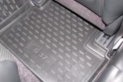 Фото 9 - Коврики в салон для Infiniti G (Q50) Sedan '10- полиуретановые (Novline)