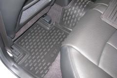 Фото 11 - Коврики в салон для Infiniti G (Q50) Sedan '10- полиуретановые (Novline)