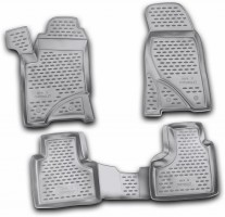 Коврики в салон для Chevrolet Niva '10- полиуретановые (Novline / Element)