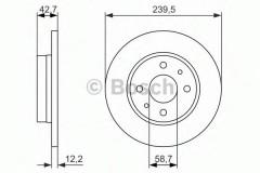 Комплект тормозных дисков BOSCH 0 986 479 905 (2 шт.)