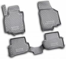 Коврики в салон для Skoda Yeti '09-17 полиуретановые (Novline / Element)
