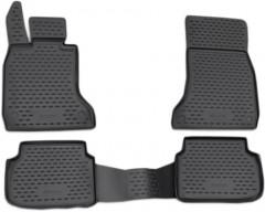 Коврики в салон для BMW 7 F02 '08-15 Long, полиуретановые, черные (Novline / Element)