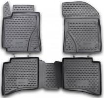 Коврики в салон для Geely MK / MK Cross HB '11- полиуретановые 3D (Novline / Element)