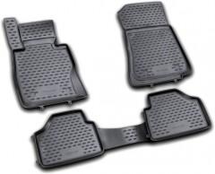 Коврики в салон для BMW X1 E84 '09-15 полиуретановые, черные (Novline / Element)