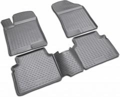 Коврики в салон для Hyundai Sonata '08-10 полиуретановые (Novline / Element)
