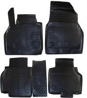 Novline Коврики в салон для Renault Kangoo '09- полиуретановые, черные (Novline)