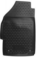 Фото 2 - Коврики в салон для Chevrolet Spark '11- полиуретановые, черные (Novline)