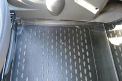 Фото 9 - Коврики в салон для Chevrolet Spark '11- полиуретановые, черные (Novline)