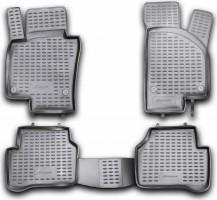 Коврики в салон для Volkswagen Passat B7 '10-14 полиуретановые (Novline / Element)