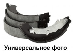 Тормозные колодки передние, задние BOSCH 0 986 487 847, для стояночной системы