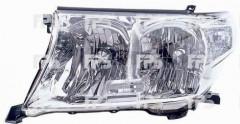 Фара передняя для Toyota Land Cruiser 200 '07- левая (DEPO) электрич.