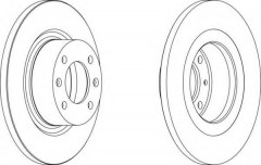 Комплект задних тормозных дисков FERODO DDF1157 (2 шт.)
