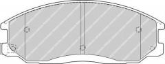 Тормозные колодки передние FERODO FDB1605, дисковые