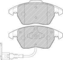 Тормозные колодки передние FERODO FDB1641, дисковые