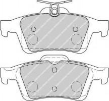 Тормозные колодки задние FERODO FDB1931, дисковые