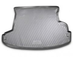 Коврик в багажник для Nissan X-Trail '01-07, полиуретановый (Novline / Element) серый