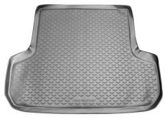 Коврик в багажник для Mitsubishi Pajero Sport '98-08, полиуретановый (Novline / Element) серый
