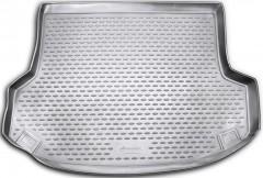Коврик в багажник для Hyundai ix-35 '10-15, полиуретановый (Novline / Element) серый
