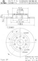 Комплект тормозных дисков BREMBO 08.9460.40 (2 шт.)