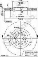 Комплект тормозных дисков BREMBO 09.7880.11 (2 шт.)