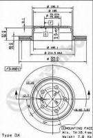 Комплект тормозных дисков BREMBO 09.9164.10 (2 шт.)