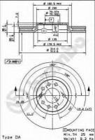 Комплект тормозных дисков BREMBO 09.9177.10 (2 шт.)