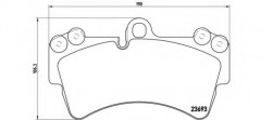 Тормозные колодки BREMBO P 85 065, дисковые