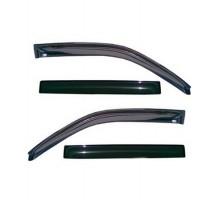 Дефлекторы окон для BMW X3 E83 '03-09, дымчатые (EGR)
