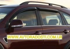Дефлекторы окон для Chevrolet Captiva '06- (EGR)