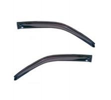 Дефлекторы окон для Geely MK Sedan '06-14, дымчатые, 2шт. (EGR)