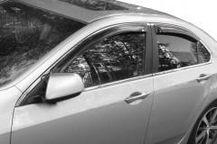 Дефлекторы окон для Honda Accord 8 '08-13 EUR (EGR)