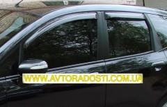 Дефлекторы окон для Honda Jazz '03-08 (EGR)