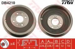 Тормозной барабан TRW DB4210