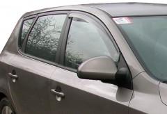 Дефлекторы окон для Kia Ceed '06-12, универсал/хетчбек, дымчатые, 2шт. (EGR)