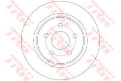 Комплект тормозных дисков TRW DF6150 (2 шт.)