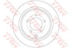 Комплект тормозных дисков TRW DF6177 (2 шт.)