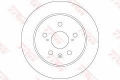 Комплект тормозных дисков TRW DF6178 (2 шт.)