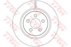 Комплект тормозных дисков TRW DF6263 (2 шт.)