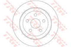 Комплект тормозных дисков TRW DF6282 (2 шт.)