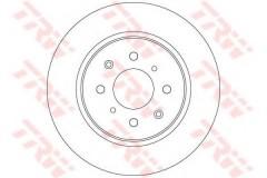 Комплект тормозных дисков TRW DF6318 (2 шт.)