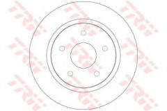 Комплект тормозных дисков TRW DF6325 (2 шт.)