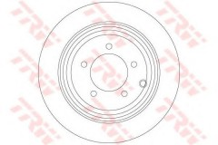 Комплект тормозных дисков TRW DF6326 (2 шт.)