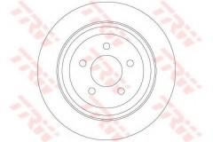 Комплект тормозных дисков TRW DF6341 (2 шт.)