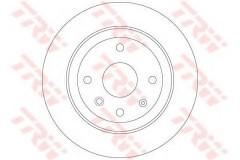 Комплект тормозных дисков TRW DF6360 (2 шт.)