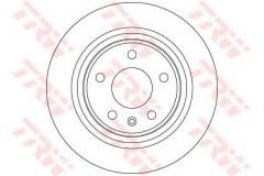 Комплект тормозных дисков TRW DF6370 (2 шт.)