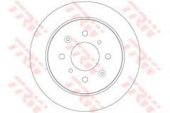 Комплект тормозных дисков TRW DF6378 (2 шт.)