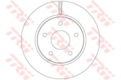Комплект тормозных дисков TRW DF6415 (2 шт.)