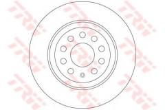Комплект тормозных дисков TRW DF6504 (2 шт.)