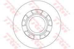Комплект тормозных дисков TRW DF6510S (2 шт.)
